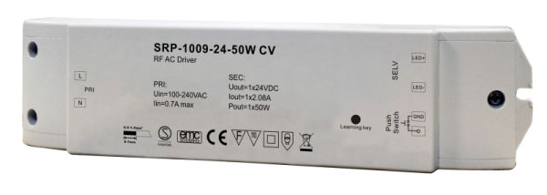 SRP-1009- CV -100W LED DIMMABLE DRIVER-24V