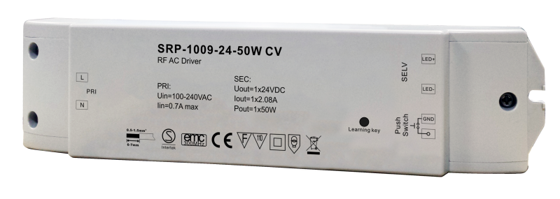 SRP-1009- CV -100W LED DIMMABLE DRIVER-24V