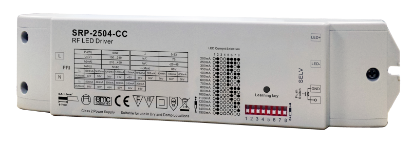 AM-2504-50W CC - LED DIMMABLE DRIVER