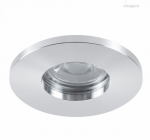 304R CHROME -LED LIGHT RING RECESSED, IP44