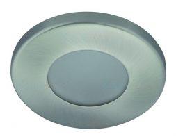 Кръгла LED луничка за баня MARIN-SN – сатиниран никел