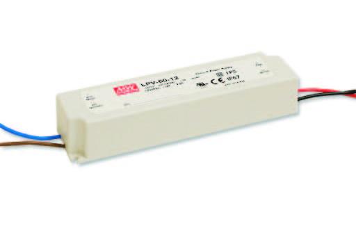 LED DRIVER MEANWELL:  LPV-60-36