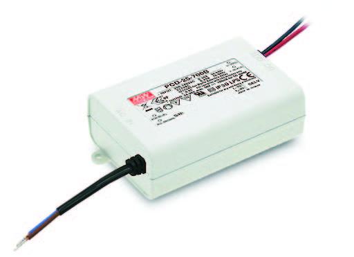 MEANWELL LED DRIVER:  PCD-25-700B