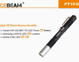 LED фенер AceBeam PT10-GT- EVERY DAY CARRY