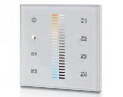 AM-2830B: RF стенен димер за LED ленти CCT